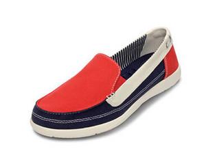 墨尔本低帮cross一脚蹬妈妈圣克鲁休闲女懒人帆布鞋单鞋沃尔卢