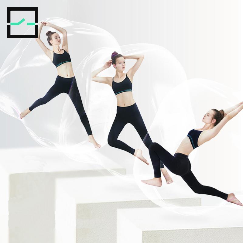 【直播间专享】轻一瑜伽裤女外穿高腰提臀收腹健身运动塑身鲨鱼裤