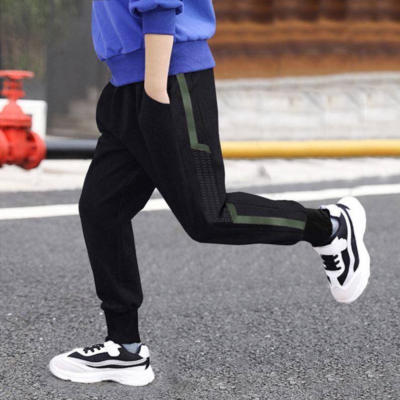 2021 dark blue slim J childrens jeans boys Cool casual pants childrens single pants winter