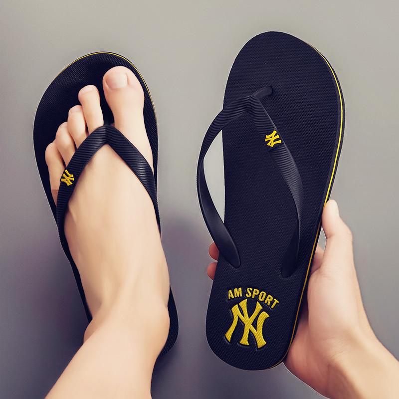 中國代購|中國批發-ibuy99|凉鞋男|夹脚拖鞋男士人字拖男潮流韩版2021新款室外穿个性沙滩凉鞋男夏季