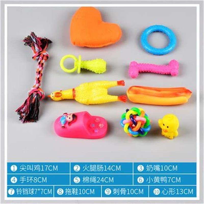 New molars toys pet h object bite resistant sound Teddy dog scream chicken scream chicken large dog cat dog toys