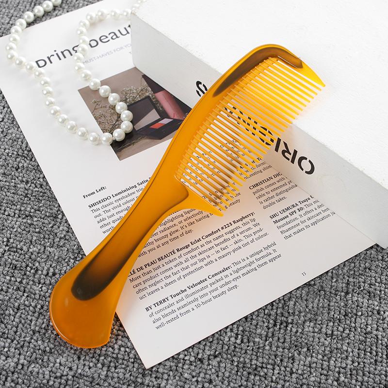 包邮1套10把PP牛筋梳子塑料梳家用不易断随身化妆梳非牛角梳套装