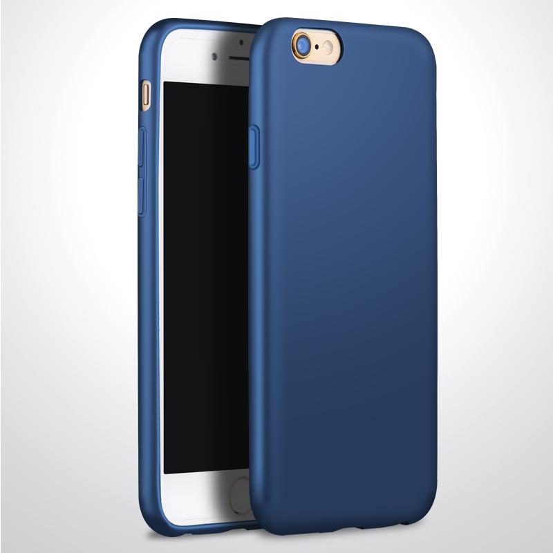 蘋果6手機殼6plus磨砂軟殼iphone6軟膠6s矽膠套潮男黑奢華p防摔sp