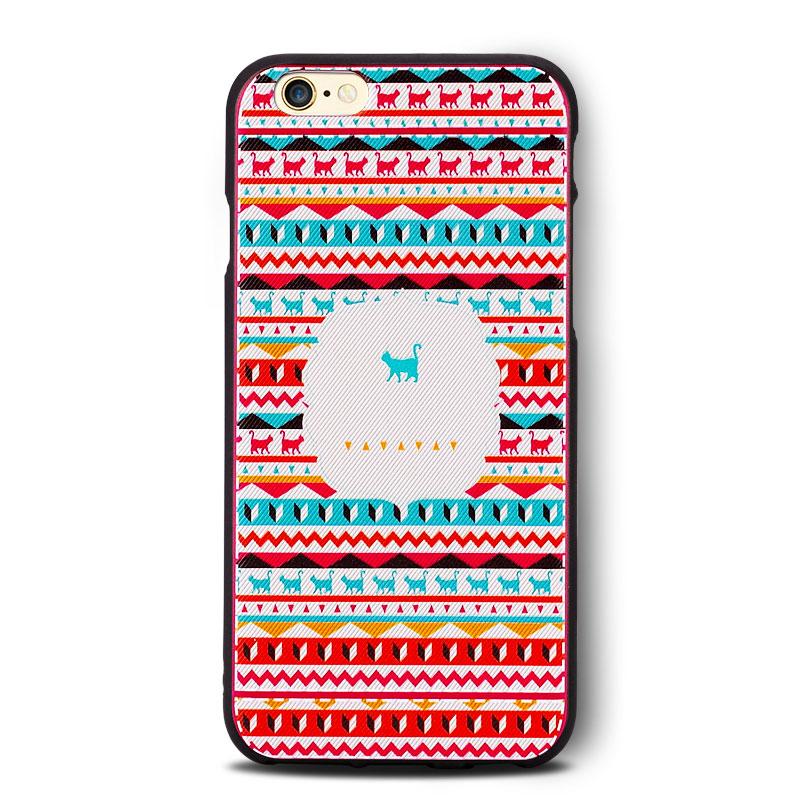 蘋果6手機殼 布紋手感iphone6plus矽膠防摔保護套6s潮男女款軟殼