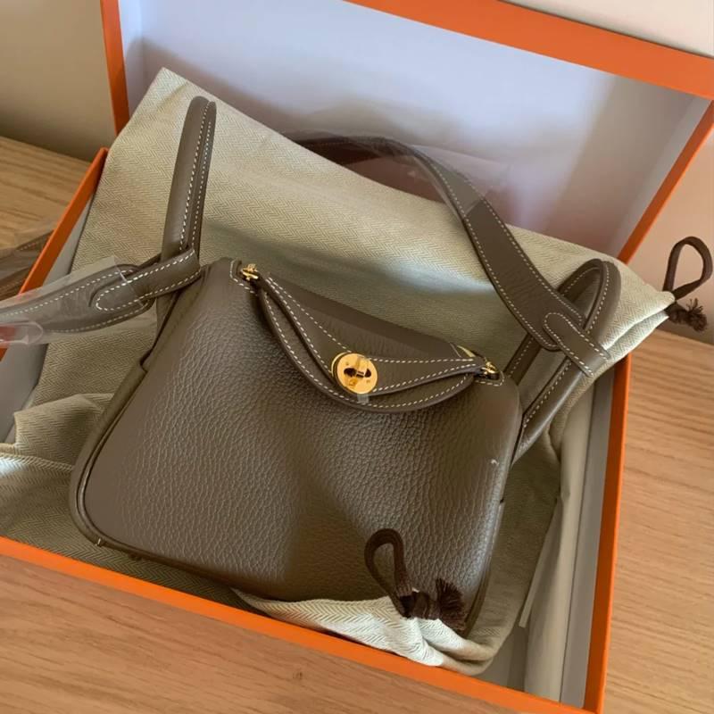 Beautiful bag 2021 new Lindy Bag Mini pillow bag leather womens bag Single Shoulder Messenger Bag doctors bag