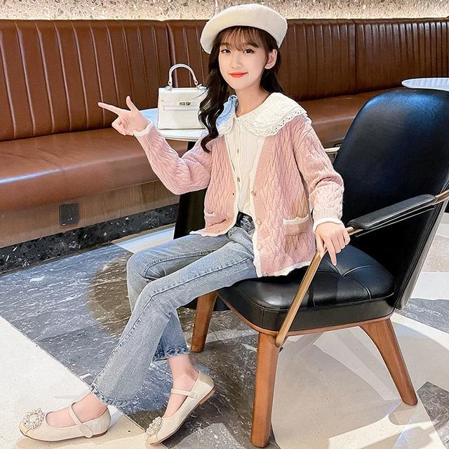 女童春秋套装韩版2021