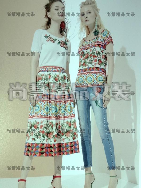 吉思缇娜2018春夏新款女装1181-8023/3002/2012/5302专柜正品