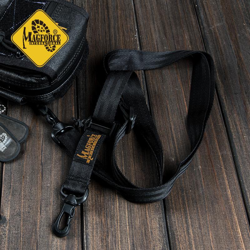 MAGFORCE Мег Хот Тайвань Лошадь корпус Сначала mp0227 черный стандартный 1-дюймовая съемная задняя часть пакет Плечевой ремень