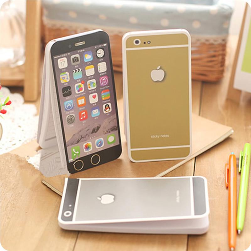 创意个性便签纸iphone苹果手机便签本记事本便利贴留言条口袋本子