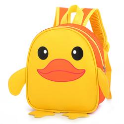 2-3岁4-5可爱卡通儿童男书包幼儿园宝宝女孩小黄鸭防水双肩背包潮