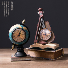 Creative Nordic Individual Clock Seat Clock Pendulum Home Living Room Bedroom Decoration TV Cabinet Wine Cabinet Arrangement