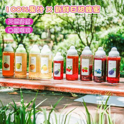 养生达人福音!日本杉养蜂园网红蜂蜜果汁柚子蜜巨峰葡萄冲饮即食