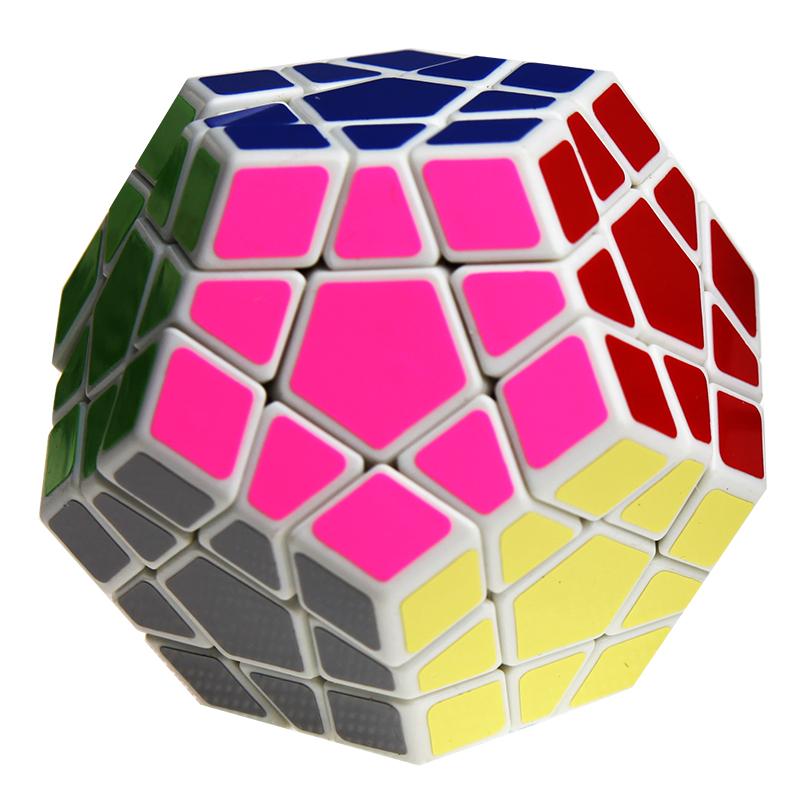 聖手 五魔方五邊形可調異形魔方十二麵體比賽12麵體玩具魔方