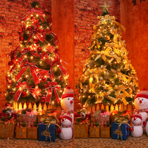 Pine Needle small Christmas Tree package decoration 1.2 meters 1.5m1.8 rice home Christmas Tree set luxury encryption