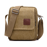 New tidal single shoulder slung handbag for men's canvas