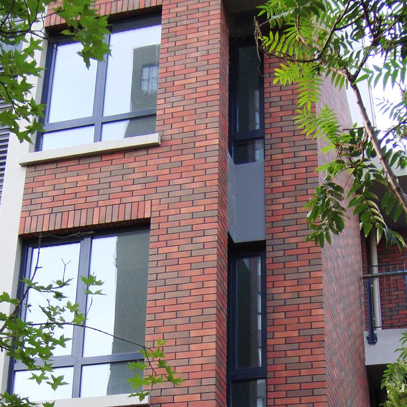 廣陶陶瓷外牆磚瓷磚別墅室外文化石美式仿劈開紅磚仿古磚陽台牆磚