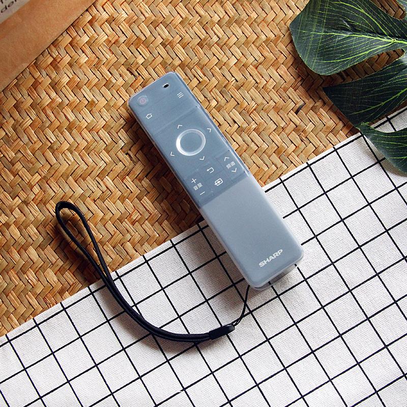 夏普电视遥控器保护套LCD-60SU660A 58MY83A SU760透明防尘罩硅胶