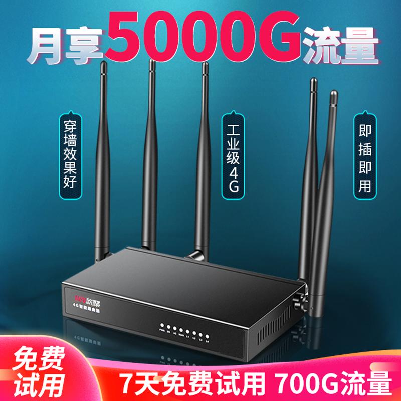 随身wifi无限流量移动wifi网络无线路由器无线wifi上网卡全三网通插卡免宽带上网宝器家用智能5G物联网4G工业