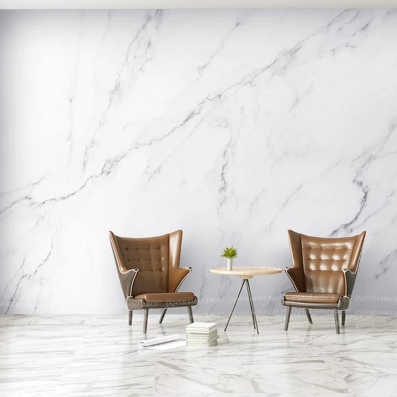 北欧ins简约壁纸大理石纹墙纸卧室客厅电视墙无缝定制墙布无纺布
