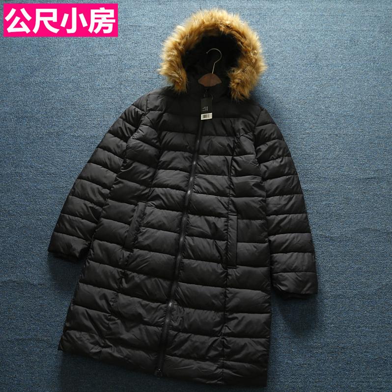 欧单精品女装冬季中长款经典风棉服