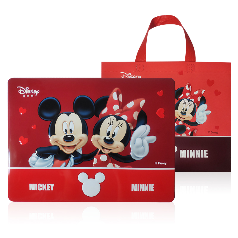 Disney step by step high box cashew cake laver omelet multi flavor cashew nut Cookie Gift Box