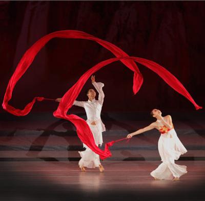 秧歌红绸带舞蹈绸子红绸布彩带腰鼓绸丝带方巾儿童飘带棒舞蹈用品