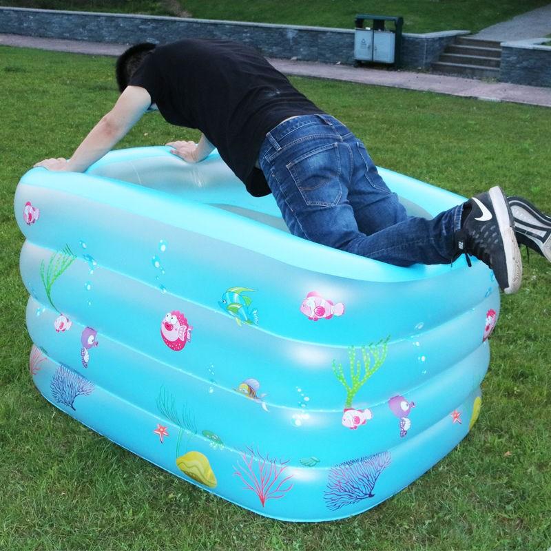 假一赔三婴儿童充气成人超大型加厚游泳池