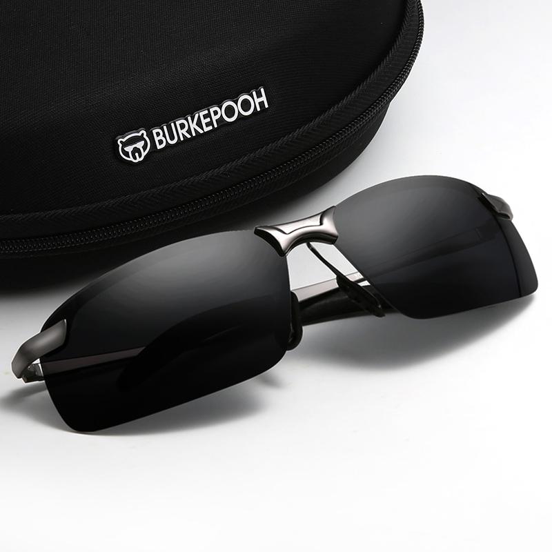日夜两用变色太阳镜男士司机偏光驾驶墨镜夜视开车专用眼镜潮钓鱼