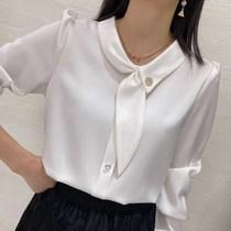 花花家潮流女装女士衬衫秋季新款设计款百搭时尚衬衫女(M-3XL)