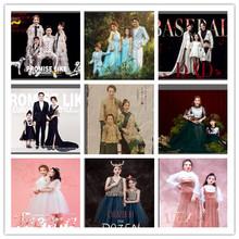 展会新款亲子时装影楼一家四口亲子拍照服装个性韩版亲子时装