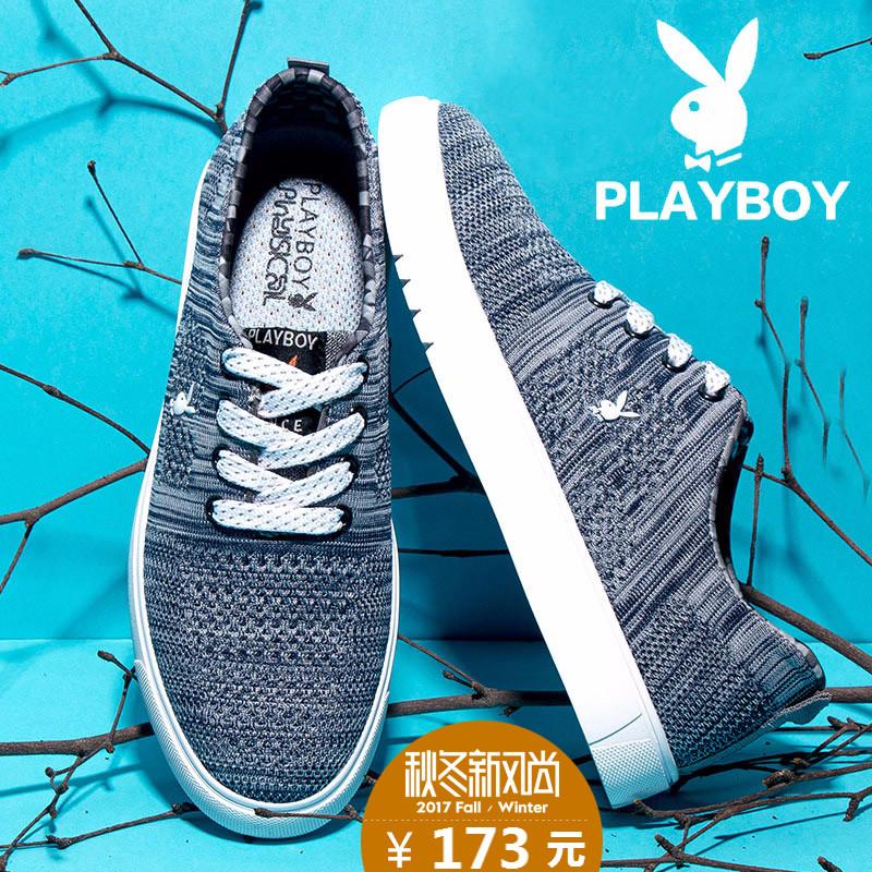 Playboy пар обуви осень холст обувь движение обувь обувь мужской обувь casual мужчина корейская волна обувь мужчина