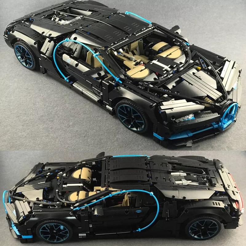 兼容乐高科技机械组布加迪方程式赛车高难度拼装汽车玩具积木模型