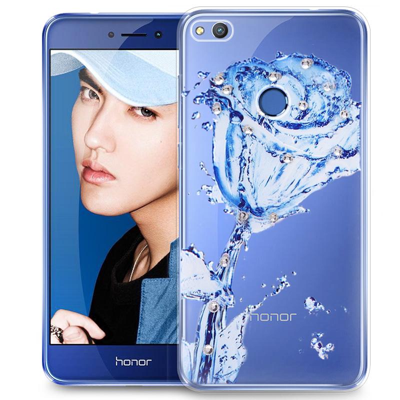 華為榮耀8青春版手機殼女款8lite保護套PRA~AL00X全包邊矽膠軟殼
