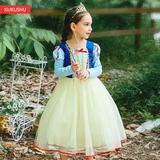 女童白雪公主连衣裙