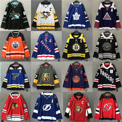 Justin Bieber tour the same trend men and women ice hockey jersey T-shirt long-sleeved plus size sweater trendy men and women