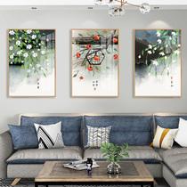 道家书法字画悟道集办公室墙壁丝绸布装饰挂画大道至简道法自然