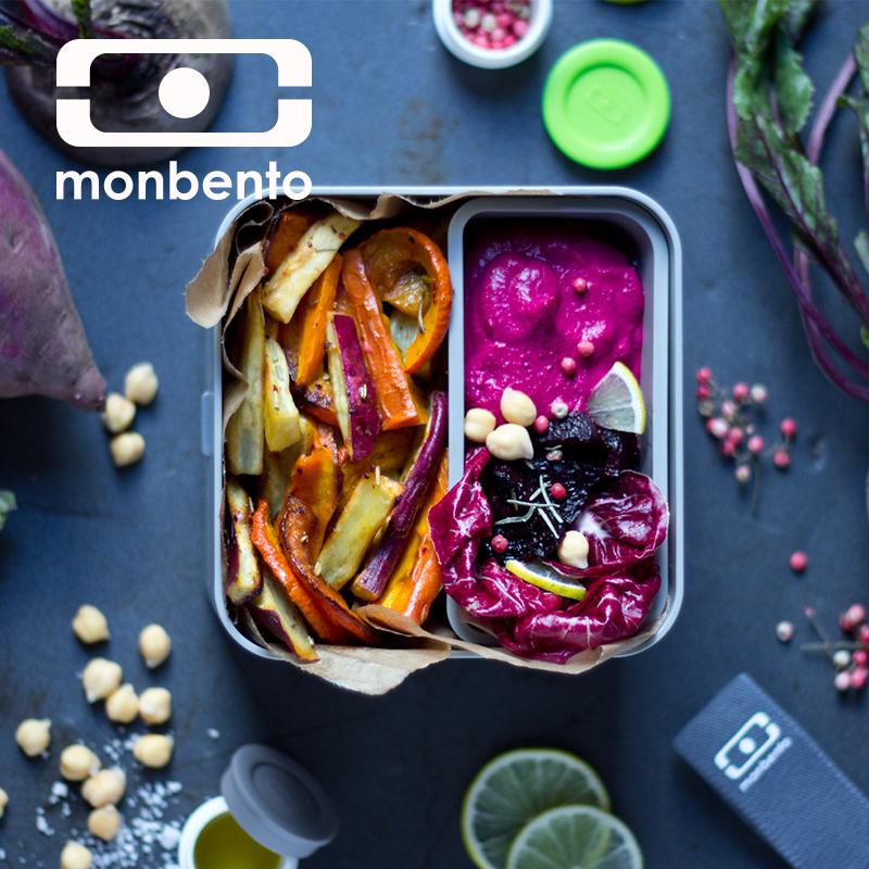 法國monbento飯盒便當盒分格雙層2層方形微波爐日式飯盒大容量