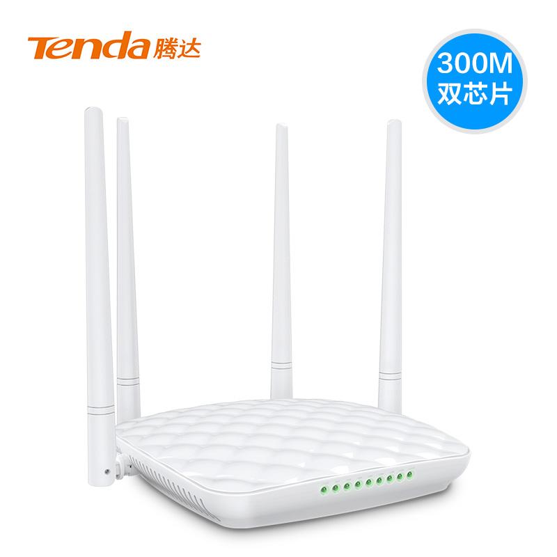 テンダ/Tenda FH 456無線ルータ/家庭用wifi壁を横切る光ファイバブロードバンドの大電力ルータ