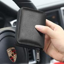 大容量卡包牛皮防盗刷信用卡套多卡位女卡片包名片夹超薄小驾驶证