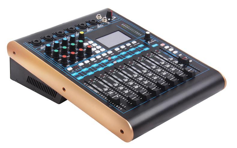 BDSPAA MD12 MKBS数字调音台 数字专业触摸屏舞台录音混响均衡器