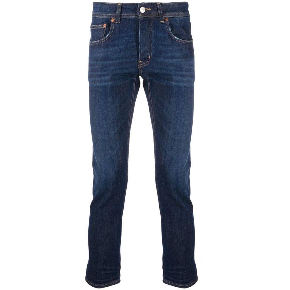 Buy haikure skinny ankle revealing jeans 2021 new luxury pants simple imitation old fashion versatile