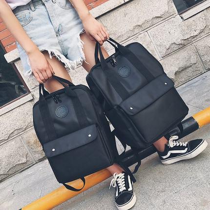 书包男女双肩包男韩版15.6寸电脑包时尚潮流旅行包高中学生背包男