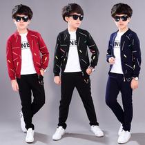 4-12岁11男童男装10秋季5中小学生秋装9儿童外套8牛仔衣服6一套装