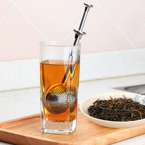 304 Stainless Steel Tea Filter Tea leakage Tea Filter Creative tea stick tea ball coffee bag maker tea artifact