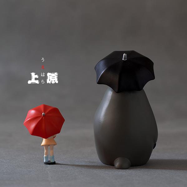 [上原凜]正版散貨 宮崎駿龍貓小梅小月等公交手辦模型公仔擺件