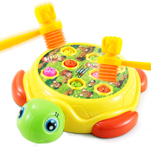 Hamster toy infant, one and a half year old girl, child, boy, electric puzzle, 1-2-3 year old girl