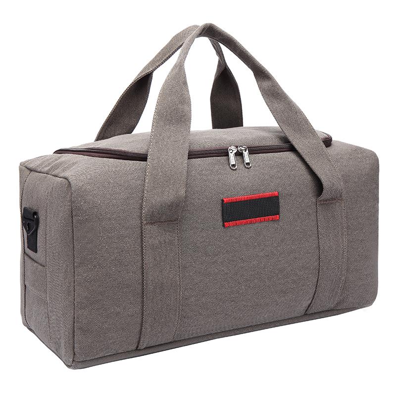 帆布旅行包 手提包男士行李包旅行袋手提行李袋單肩包超大容量