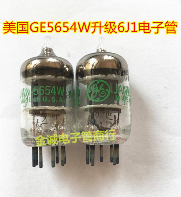 Совершенно новый сша GE 5654 электронный трубка превышать лян звук поколение изменение 6J1 6 метр 1 6AK5 EF95 хорошо действительно пара
