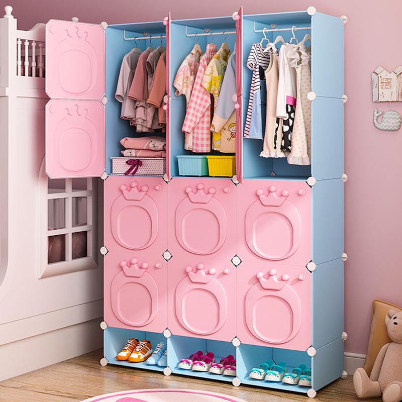 儿童衣柜收纳柜抽屉式塑料加厚宝宝婴儿零食大号整理省空间储物柜