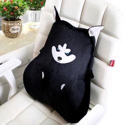 洛丽靠垫办公室腰靠记忆棉腰垫椅子靠背孕妇座椅抱腰枕靠背垫腰垫